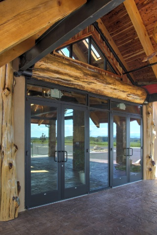 Commercial entry doors like Boyd's aluminum storefront doors are the right commercial storefront doors for your building.